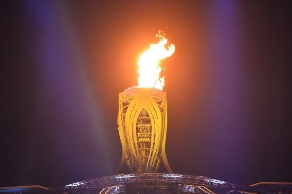Огонь XXVII Всемирной летней Универсиады 2013