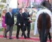 Глава ОАО  «Газпром» Алексей Миллер  на московском ипподроме
