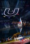 Вынос российского флага на церемонии открытия XXVII Всемирной летней Универсиады