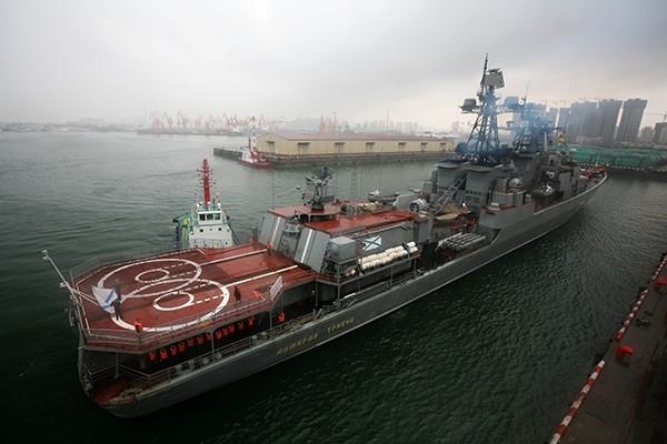 Большой противолодочный корабль «Адмирал Трибуц»