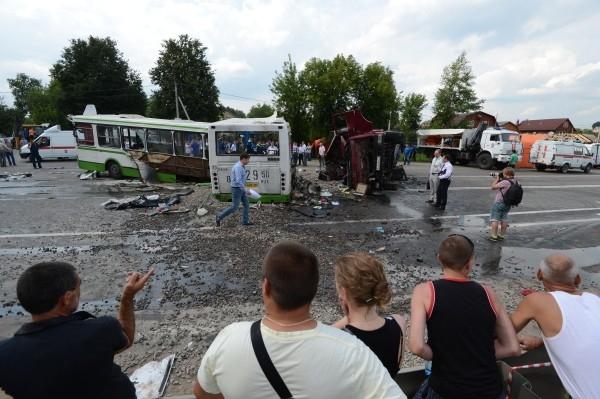 в столичном регионе объявлен траур по погибшим в результате автокатастрофы.