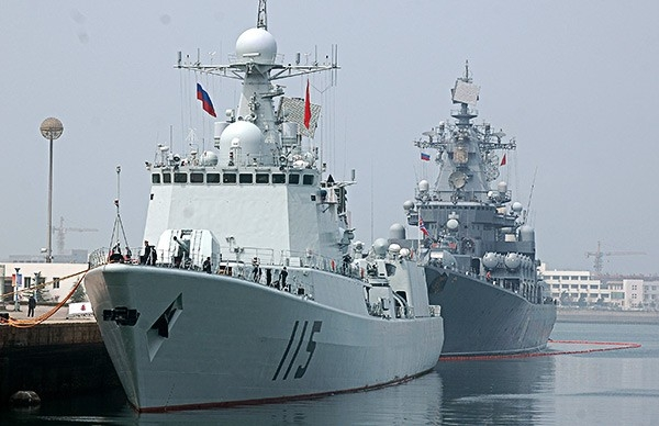 Корабли военно-морских сил КНР