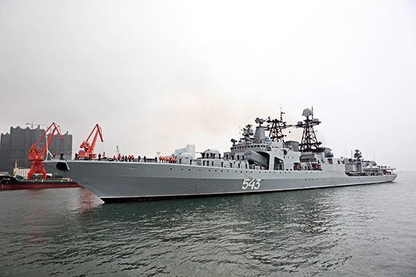 Головной корабль серии - УРО «Удалой»