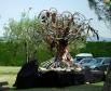 Инсталляция в одном из городов, в котором проходит Тур де Франс