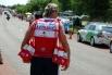 Члек команды «Катюша» на пункте питания гонщиков