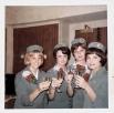Основная задача бортпроводников — сделать все возможное, чтобы пассажирам на борту авиалайнера было комфортноНа фото: стюардессы авиакомпании Pan American World Airways в конце 1960-х годов