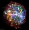 Остаток от взрыва обозначенный как G292.0+1.8.     Поперечник туманности составляет 36 световых лет.   Это один из трёх известных на данный момент остатков сверхновых с богатым содержанием этого элемента