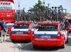 Технические автомобили велокоманды «Катюша»