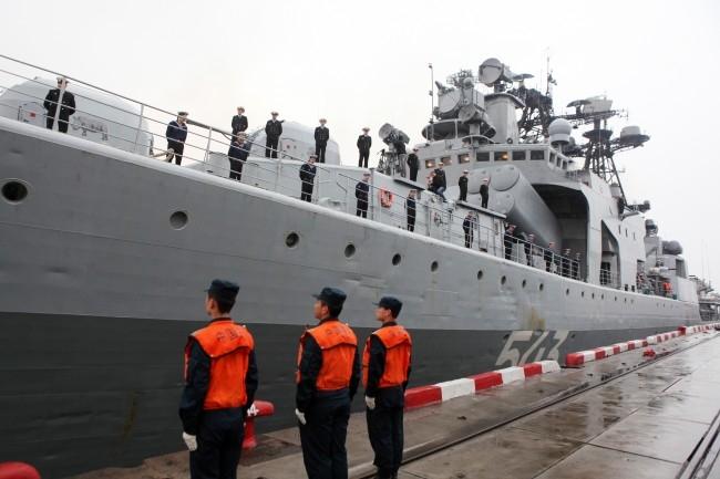 Большой противолодочный корабль «Маршал Шапошников»