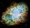 Крабовидная туманность является остатками сверхновой, взрыв которой наблюдался, согласно записям арабских и китайских астрономов, 4 июля 1054 года. Вспышка была видна на протяжении 23 дней невооружённым глазом даже в дневное время.  В центре туманности на