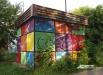 Кемеровский стрит-арт. Почти все работы местные художники сделали с разрешения муниципалитета.