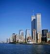 Башни Всемирного торгового центра в Нью-Йорке достигали в высоту 526 метров, но были разрушены во время теракта 11 сентября 2001 года.