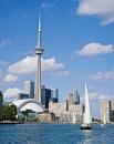 Самое высокое здание в западном полушарии - башня Си-Эн Тауэр в 553 метра находится в канадском Торонто.