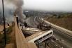По одной из версий, крушение поезда могло произойти из-за превышения скоростного режима