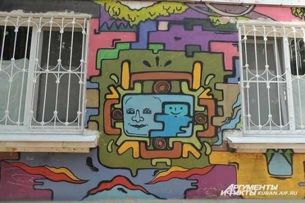 Cтрит-арт в Краснодаре. Власти уже не борются с художниками, а, наоборот, поощряют – рисунки освежают серые здания города и делают их эксклюзивными.