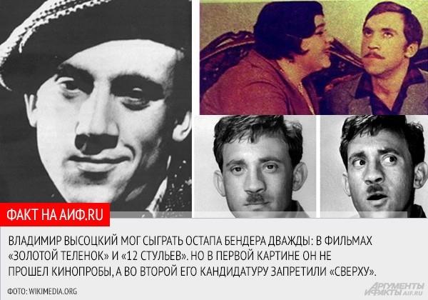 """<a href=""""http://www.aif.ru/culture/article/65407"""">АиФ.ru вспомнил роли, которые Владимир Семенович так и не сыграл</a>"""