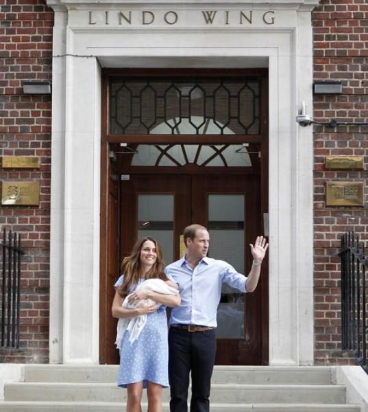 «Это очень волнующее событие. Только став родителями, можно почувствовать, каково это», — отметила в свою очередь Кейт.