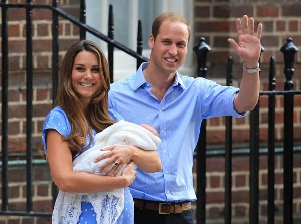«Он довольно тяжелый», — сказал Уильям, добавив, что они все еще думают, как назвать ребенка.