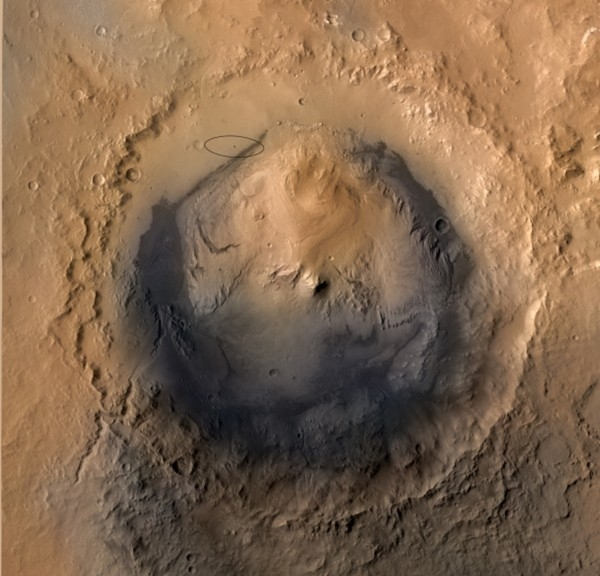 Весной 2013 года стало известно, что Curiosity с помощью российского прибора ДАН обнаружил в кратере Гейла «оазисы» - области с повышенным содержанием водорода, которые могли быть участками дна древнего ручья.