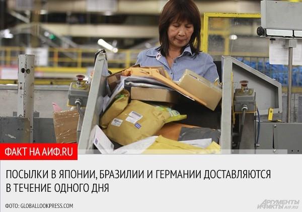 """<a href=""""http://www.aif.ru/money/article/65606"""">АиФ.ru рассказывает, как налажена  работа зарубежных почтовых служб, которые без труда справляются с многочисленными посылками и корреспонденцией </a>"""