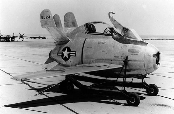 McDonnell XF-85 «Goblin» — американский реактивный самолёт, создававшийся как истребитель сопровождения, который мог бы базироваться на тяжёлом бомбардировщике. Прототип, серийно не производился. Самолёт был запущен с бомбардировщика Boeing ЕВ-29В. В резу