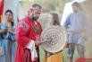 Посетители также могли ознакомиться с обрядами и церемониями того времени.