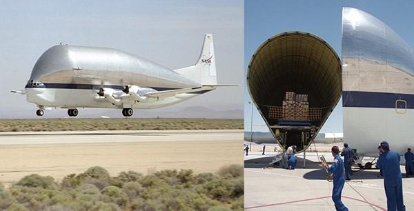 B377PG – супер-турбинный грузовой самолёт NASA, первый полёт которого состоялся в 1980 году.