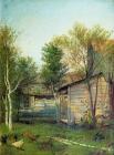 Исаак Левитан - Солнечный день. Весна, 1876-1877.