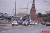 В столице на Васильевском спуске финишировал благотворительный велопробег в поддержку детей с синдромом Дауна.