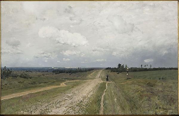 Исаак Левитан - Владимирка, 1892