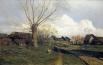 Исаак Левитан - Саввинская слобода под Звенигородом, 1884.