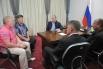 Встреча с представителями крестьянско-фермерских хозяйств Амурской области.