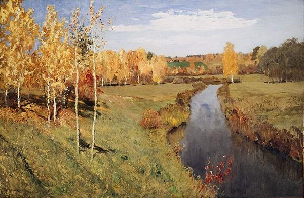 Исаак Левитан - Золотая осень, 1895.