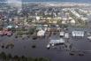 Осмотр с вертолёта населённых пунктов Благовещенского района, находящихся в зоне паводка.