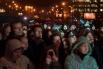 На митинг-концерт в поддержку в кандидаты в мэры Москвы Алексея Навального на проспекте Сахарова пришли, по разным данным, от двух до двадцати тысяч человек