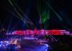 Музыкальное сопровождение оказывал оркестр всемирно известной «Мариинки», в исполнении которого прозвучали произведения Верди, Чайковского и современные ритмы, «Лебедь» Сен-Санса.