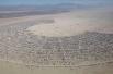 С высоты территория Burning Man похожа на небольшой город. В этом году фестиваль собрал 68 тысяч человек.