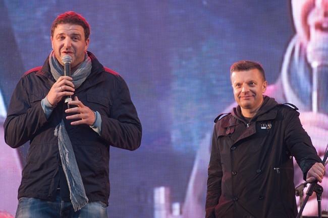 Максим Виторган и Леонид Парфенов