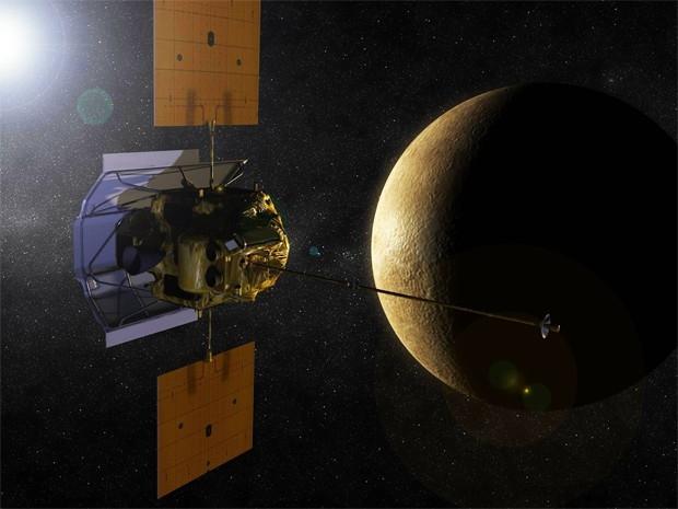 В августе 2004 года NASA запустило в космос станцию «Мессенджер». Задачей аппарата является изучение Меркурия, одной из самых труднодоступных планет Солнечной системы. Аппарату необходимо развить значительную скорость, чтобы приблизиться к Меркурию, после