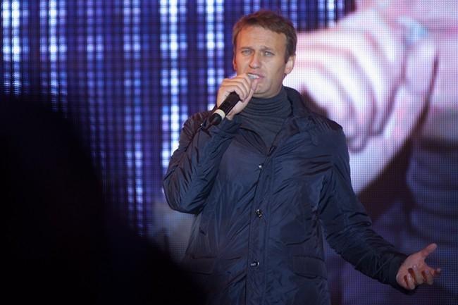 Кандидат на пост мэра Москвы Алексей Навальный