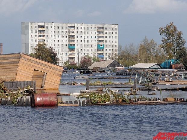 Серьёзно пострадала инфраструктура многих районов.