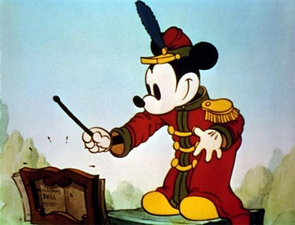 Первым цветным мультфильмом о Микки Маусе стала 9-минутная короткометражка «Концерт», выпущенная в 1935 году. К тому моменту Уолт Дисней уже некоторое время сотрудничал с компанией Technicolor.