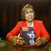 В мае 2013 года Роднина представила свою книгу мемуаров «Слеза чемпионки». На фото: Ирина Роднина на презентации книги «Слеза чемпионки».