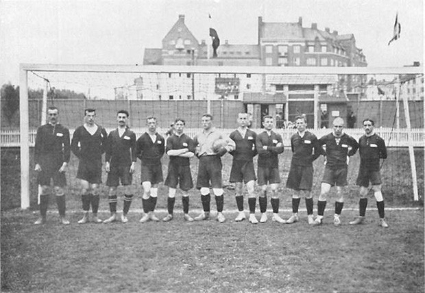 Сборная Российской Империи по футболу на Летних Олимпийских играх 1912 года.