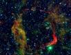 Туманность RCW86, остаток сверхновой SN 185. Это самая старая из известных учёным сверхновых звёзд - свет от неё достиг Земли в декабре 185 года. Расположена на расстоянии 3000 световых лет от Земли.