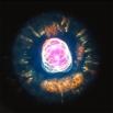 Туманность NGC 2392 в созвездии Близнецы, 4200 световых лет от Земли. Яркое свечение этого объекта обусловлено расширением звезды, происходящим в связи с окончанием жизненного цикла.
