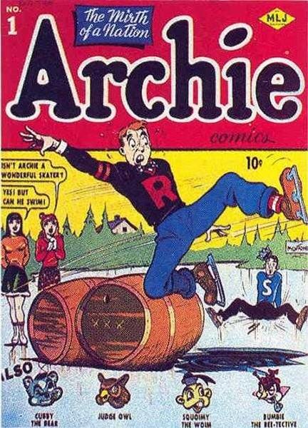 Компания Archie Comics основана в 1939 году и до сих пор продолжает издавать различные комиксы для подростков - в данный момент фирма производит около двадцати различных серий, среди которых несколько посвящены широко известному в России ежу по имени Сони