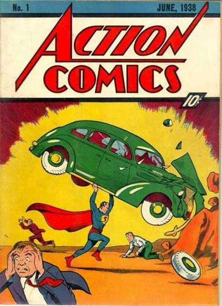 Самым дорогим и редким комиксом в мире считается первый номер серии Action Comics, которую издавала компания DC Comics. По мнению коллекционеров, первый номер Action Comics, в котором впервые появился Супермен, положил начало золотому веку комиксов. В 200