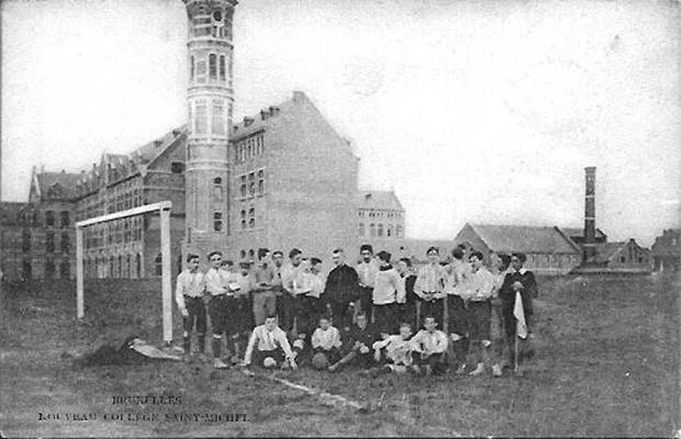 Тренировка команды колледжа Святого Михаила в Брюсселе.