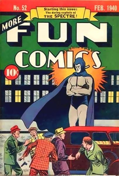Примерная стоимость этого выпуска составляет $250 тысяч. Ценность этого номера заключается в том, что в нём рассказана первая история, главным героем которой стал супергерой Спектр. Автором обложки считают Бернарда Бейли, но по некоторым другим данным пер